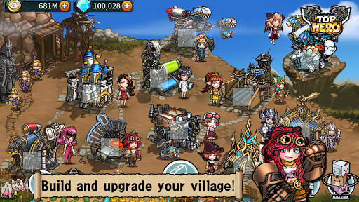Top Hero - Tower Defense  screenshots 2