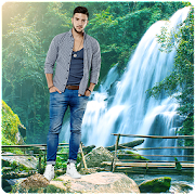Photo Editor & Photo Frames: Water fall Background
