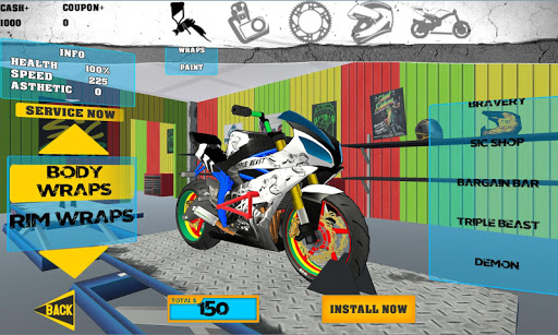 Télécharger Gratuit Stunt bike Freestyle apk mod screenshots 4
