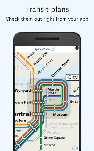 sydney transport: offline nsw departures and plans screenshot 2