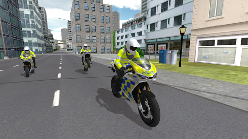 Police Motorbike Simulator 3D screenshots 5