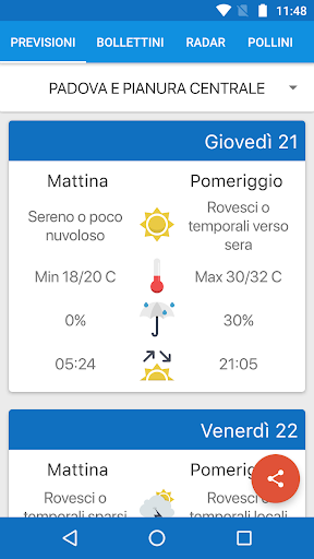 Meteo Arpa Veneto For PC Windows (7, 8, 10, 10X) & Mac Computer Image Number- 5