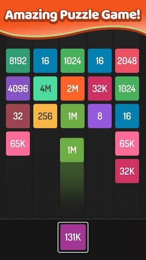 X2 Blocks u2013 2048 Merge Puzzle Game android2mod screenshots 2