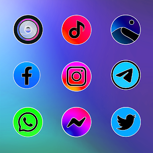 MIUl 12 Circle Fluo Icon Pack v2.1.6 [Patched] 3