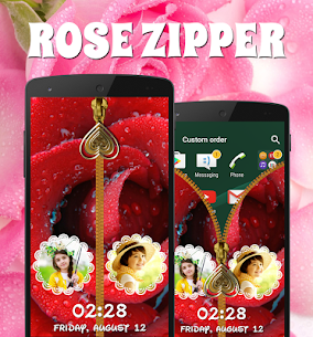 Rose Zipper Lock Screen For Pc | How To Install – (Windows 7, 8, 10 And Mac) 1