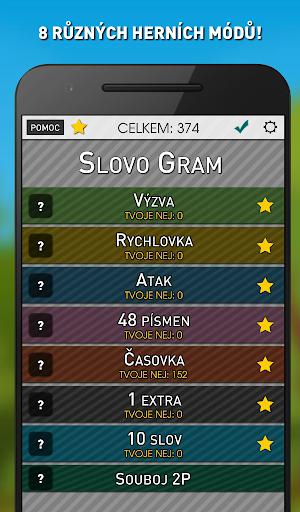 Slovo Gram - Česká Slovní Hra (verze zdarma)  screenshots 2