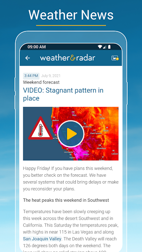 Weather & Radar - Storm radar apktram screenshots 6