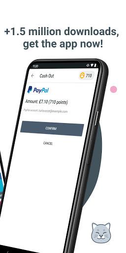 Curious Cat App: Paid Surveys apktram screenshots 2