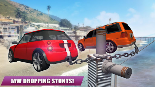 Chained Car Racing Games 3D 3.0 screenshots 3