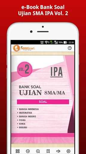 e-Book Bank Soal Ujian SMA IPA Vol. 2  screenshots 4