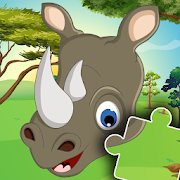 Animal jigsaw puzzles for kids 🧩🐶🐢  Icon