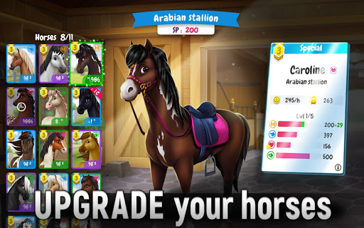 Horse Legends: Epic Ride Game android2mod screenshots 6