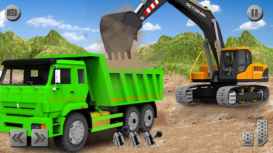Sand Excavator Simulator 2021: Truck Driving Games 9