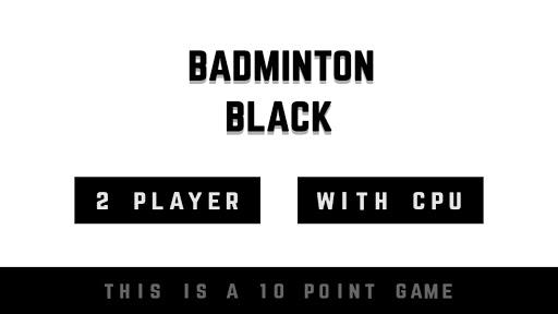 Badminton Black 2.0.9 screenshots 3