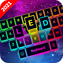 LED Keyboard - RGB Lighting Keyboard, Emojis, Font