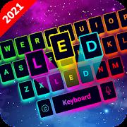 LED Lighting Keyboard - Emojis, Fonts, GIF