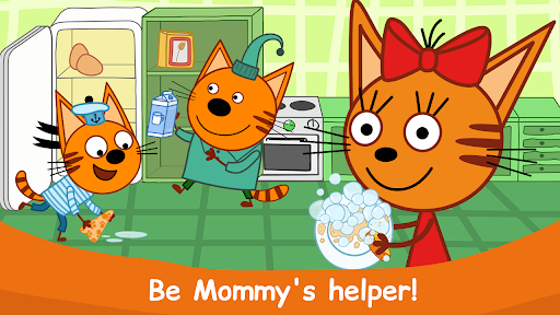Kid-E-Cats: Cooking for Kids with Three Kittens!  screenshots 5