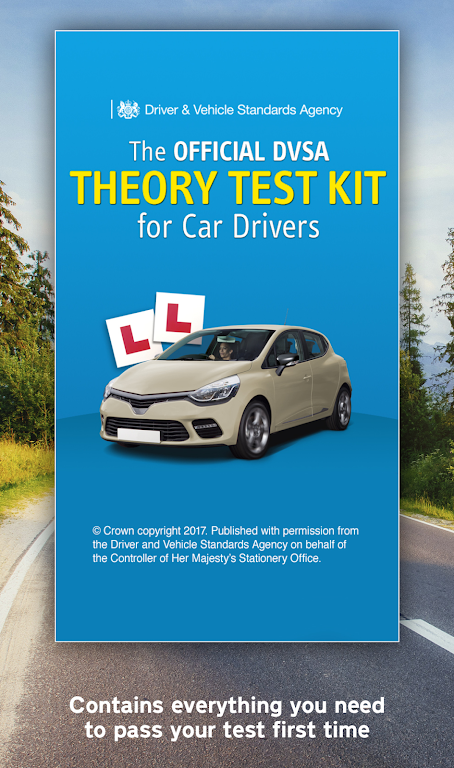 Official DVSA Theory Test Kit poster 0