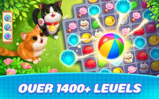 Kitten Match-Mansion & Pet Makeover  screenshots 5