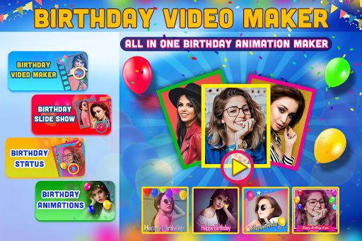 Birthday Video Maker with Song and Name 2021 android2mod screenshots 6
