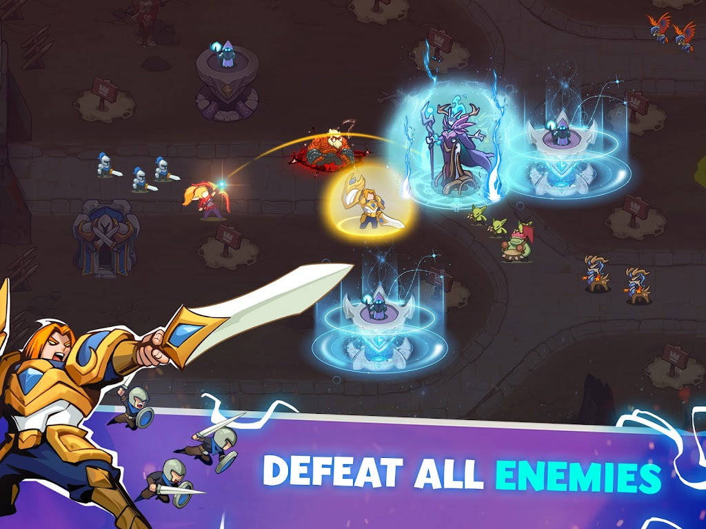 Empire Defender TD: Tower Defense Strategy Game TD poster 14