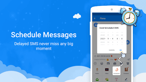 Messages - Messenger for SMS App android2mod screenshots 11