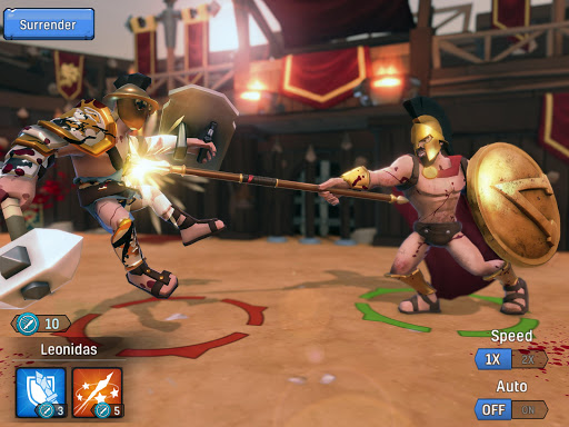 Gladiator Heroes - Strategy and Fighting Game  Screenshots 23