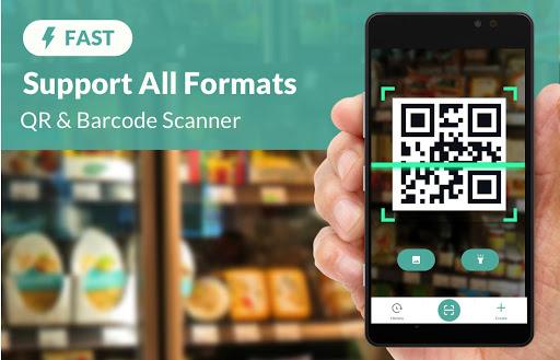 FREE QR Scanner, Barcode Scanner & QR Code Reader  Screenshots 1