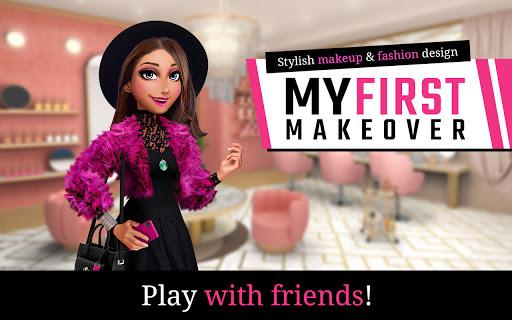My First Makeover: Stylish makeup & fashion design screenshots 7