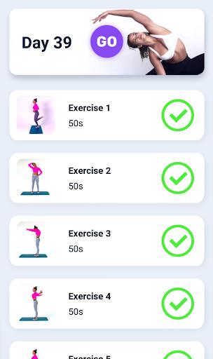 Splits. Flexibility Training. Stretching Exercises 2.1.101 Screenshots 13