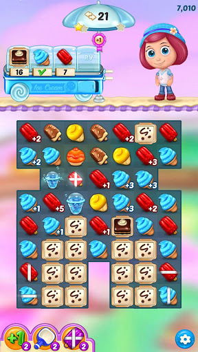 Ice Cream Paradise - Match 3 Puzzle Adventure 2.7.5 screenshots 8