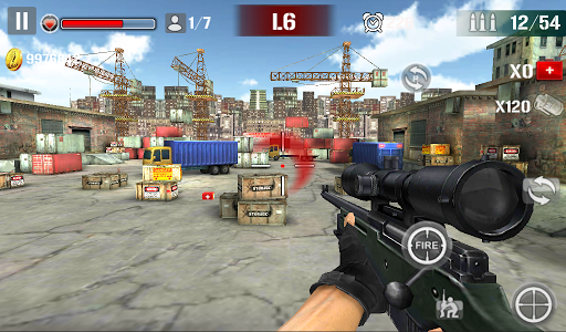 Sniper Shoot Fire War 1.2.5 screenshots 4