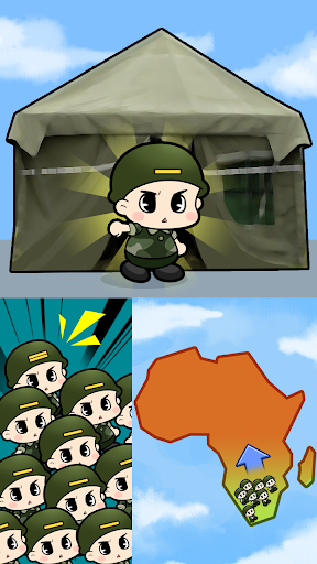Tap Tap Soldier - Space War  screenshots 4