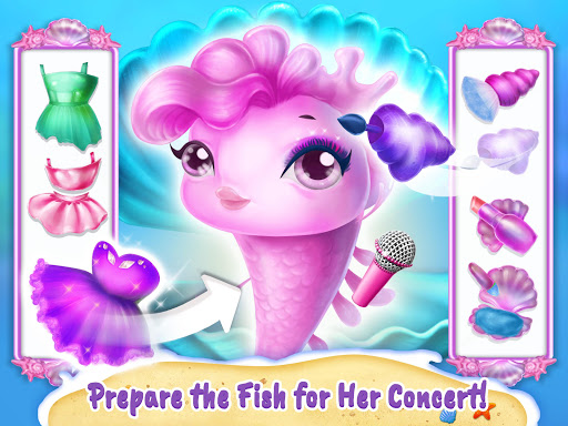Sweet Baby Girl Mermaid Life - Magical Ocean World apkmr screenshots 16