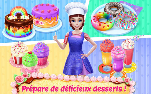 Code Triche Mon empire pâtissier – Prépare & sers des gâteaux (Astuce) APK MOD screenshots 3