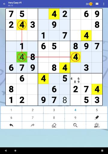 Sudoku Free - Classic Brain Puzzle Game  screenshots 11