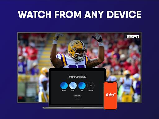 fuboTV: Watch Live Sports, TV Shows, Movies & News screenshots 16