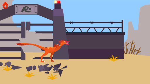 Dinosaur Guard - Jurassic! Driving Games for kids  screenshots 23