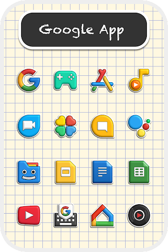 Download APK: Poppin icon pack v2.0.3 [Patched]