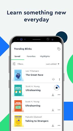 Blinkist: Key Book Insightu202as android2mod screenshots 4