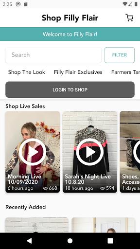 shop filly flair screenshot 2
