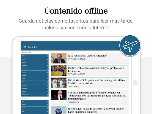 El Mundo - Diario lu00edder online 5.0.24 Screenshots 10