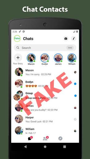 Fake Chat Conversation - prank 7.31 Screenshots 6