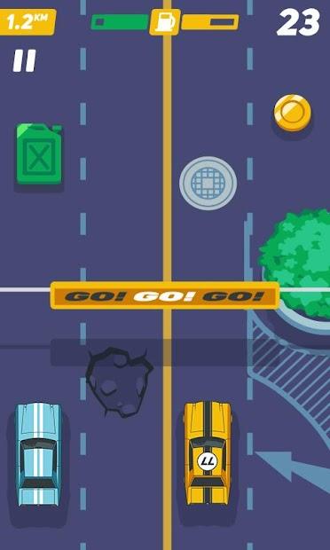 Captura de Pantalla 15 de carrera de coches rápida tiroteo d venganza juegos para android