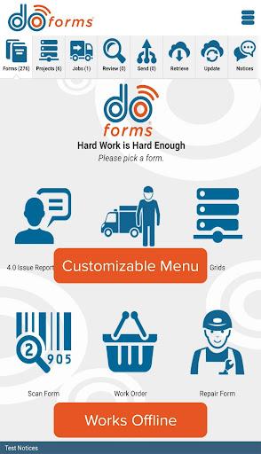 doForms Mobile Data Platform modavailable screenshots 2
