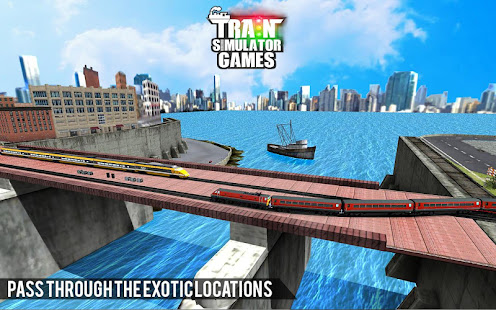 City Train Driver Simulator 2021:Free Train Games 10.8 Screenshots 14