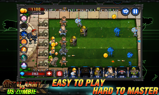 Army vs Zombies : Tower Defense Game 1.1.0 screenshots 2