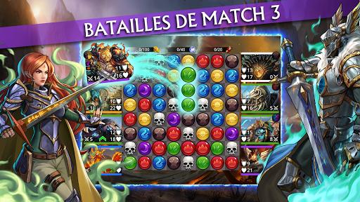 Code Triche Gems of War - RPG Match 3 APK Mod screenshots 1