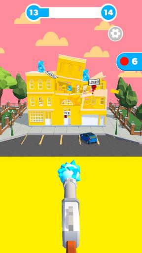 Slingshot Smash: Shooting Range android2mod screenshots 2