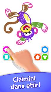 Çocuk boyama oyunları! Okul öncesi eğitici oyunlar Apk İndir 4